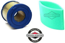 OEM Genuine Briggs & Stratton 393957 8 HP Engines Air Filter & 271794 Pre-Filter
