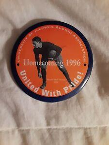 1996 University Of Illinois Homecoming Button