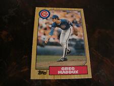 1987 Topps Traded Baseball---Rookie---#70T Greg Maddux