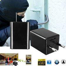 Wireless HD 1080P USB Spy Camera WiFi Mobile Hidden AC Adapter Wall Charger Plug