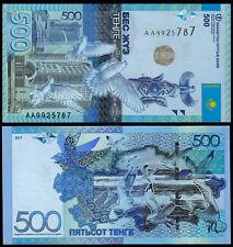 KAZAKHSTAN 500 TENGE (P NEW) 2017 NO SIGNATURE UNC