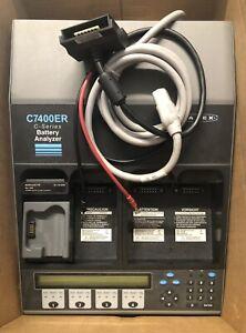 Cadex C7400 Advanced Battery Analyzer — EXCELLENT Condition