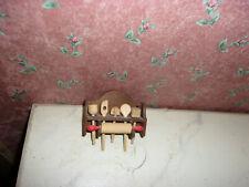 Nostalgie-Kochlöffel-Bodo Hennig-Kaufladen-Puppenhaus-Puppenstube-1:12-dunkel