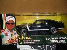 1/18 ERTL John Force Signature series 70 Mustang Boss 302 in black.