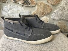 Gravis Yachtmaster Mid PEWTER Gray Flannel Sneakers Shoes Men's US 9.5 EU 43
