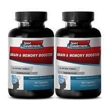 Brain Booster - Brain & Memory Booster 777mg - Support Mental Clarity Caps 2B