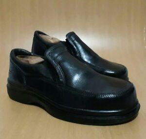 Red Wing 10 D Men's black Leather comfort shoes slip resistant