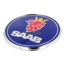 SAAB 93 9-3 03-12 95 9-5 01-10 SAAB BONNET BADGE 12844161 NEW GENUINE SUFFOLK