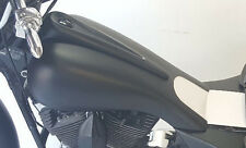 "Harley Davidson Extended Stretched Tank Shrouds ""Only""  Bagger 5 Gallon 87-07"
