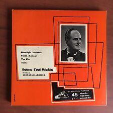 Vinile 45 giri George Melacrino copertina Luigi Veronesi - E22509