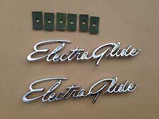 Harley Electra-Glide Touring  Fender Emblems medallions Panhead Shovelhead EVO