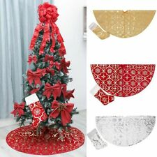 Christmas Tree Skirts Decoration New Year Home Outdoor Carpet Decorations