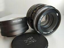 Helios 44m 58mm f2 Portrait Bokeh Zenit Lens DSLR M42 Mount + Adapter Sony E NEX