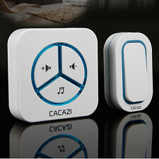 Wireless Smart 48 Tones Home Doorbell Receiver Waterproof Button 220V Excellent