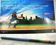 NITF ☆ Vintage ☆ NIKE Baseball Poster ☆ Gary Carter 8 ☆ New York Mets ☆ MLB