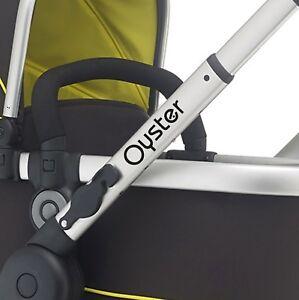 OYSTER Replacement pram logos. Vinyl decal pushchair, stroller. Transfer sticker