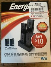 Charging System For Wii: Energizer Power And Play 2 Batteries Included