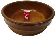 "Australian Cypress Wood Fruit Decorative Bowl Large 27 cm / 10½"""
