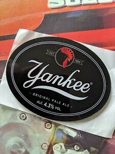 Yankee Original Pale Ale, Est 1993, Small Beer Pump Badge, Man Cave Shed