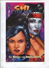 SHI CYBLADE #1 THE BATTLE FOR INDEPENDENTS! (9.0) 1995 FIRST PRINT