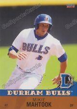 2016 Durham Bulls Mikie Mahtook RC Rookie Tampa Bay Ray