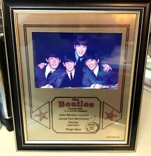 The Beatles Portrait R&R Hall Of Fame Inducted 1988