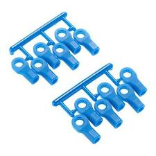 RPM 80475 Short Rod Ends (12), Blue: 1/10 Slash 4x4, 2wd, Stampede VXL