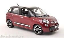 Bburago Fiat 500L 4 Doors Red 1/24 Diecast cars 22126RD