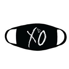 The Weeknd + Xxxtentacion Xo Face Mask Heart Cloth Face Covering + Free Shipping