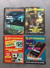 PRACTICAL ELECTRONICS MAGAZINE - 4 COPIES FROM 1970's