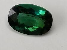 High Quality AAA 3.7 Carat Green Kunar Tourmaline;  VVS No Enhancements