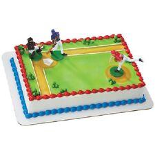 NEW BASEBALL BATTER UP GLOVE BOYS BIRTHDAY PARTY CAKE TOPPER KIT SPORTS CUPCAKE