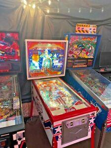 Evel Knievel Pinball Machine Restored