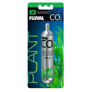 Fluval pressurised CO2 disposable cartridge 45g single  - 17555