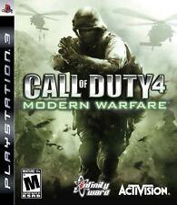 Call of Duty 4 Modern Warfare - PS3 Playstation 3