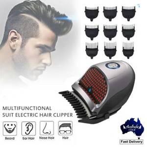 Men's Electric Hair Clipper Trimmer Razor Quick Hair Cut Cordless