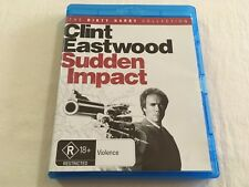 Sudden Impact (1983) - The Dirty Harry Collection Blu-Ray Region B | Like-New