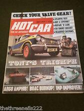 HOT CAR - ARGO AMPHIB - JULY 1971