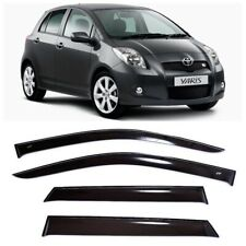 For Toyota Yaris/Vitz 5d 2005-2011 Side Window Visors Rain Guard Vent Deflectors