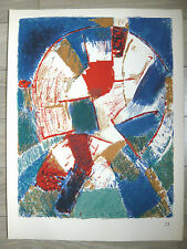 Jacques GERMAIN lithographie originale BAUHAUS Kandinsky Albers Poliakoff Kelly