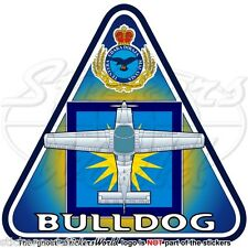 BAe BULLDOG (Beagle-Scottish Aviation) MALESIA Aeronautica Militare Adesivo