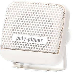 "Poly-Planar External Speaker, 2.75"" Bracket, White MB21W"