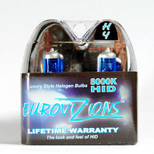ULTRA WHITE/BLUE TINT H4 9003 HB2 BULBS XENON HID HI/LO HEADLIGHTS FREE SHIPPING