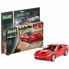 Revell Modellbausatz Corvette Stingray C7 2014 | Revell Modellbausatz Auto 1:25