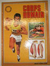 Corps humain - Sciences Vivantes Deux coqs d'or Stéphanie Thompson Vintage 1978