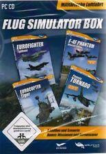 EUROFIGHTER TYPHOON ADDON MILITÄR BOX für Microsoft Flight Simulator 2004 Neuwer