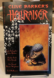 Clive Barker's Hellraiser Book 1 Epic Comics first edition 1989 Graphic Novel