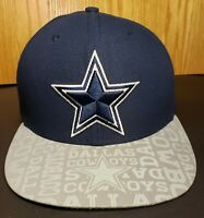 Dallas Cowboys Navy Blue and Grey New Era 7 3/8 Fitted Hat