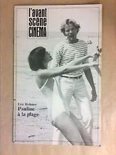 L'AVANT SCENE CINEMA N° 310 / 06/1983 / PAULINE A LA PLAGE / ERIC ROHMER / TBE