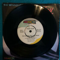 "Tiggi Clay ‎– The Winner Gets The Heart  Original 1983 UK Vinyl 7""  TMG133 NMINT"